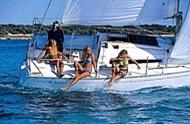 Charter jachty, Plachetnice, Chorvatsko